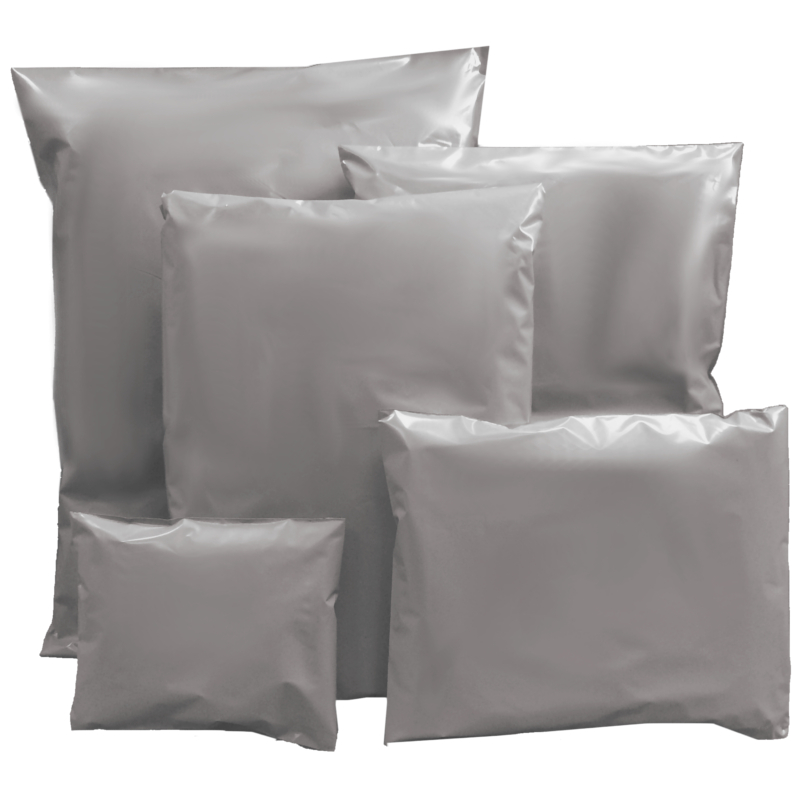 Grey Recycled Mailing Bags - Packaging Products Online f9ea767b506fe
