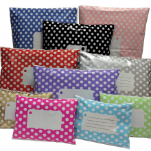 Divinely Different Polka Dot Mailing Bag Group
