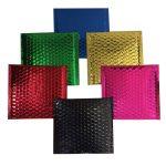Group of Metallic Foil Bubble Bags