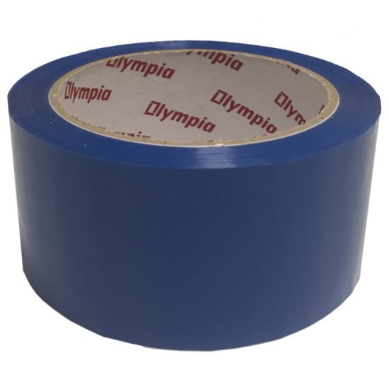 Coloured Blue Polypropylene Packaging Tape