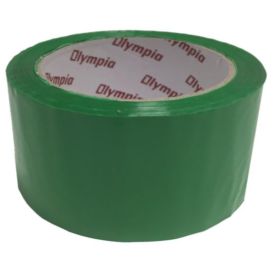 Coloured Green Polypropylene Packaging Tape