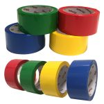 Group Coloured Polypropylene Packaging Tape