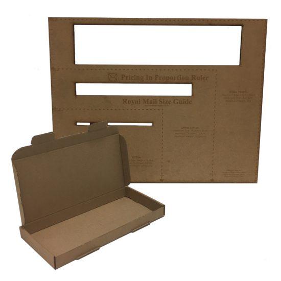 DL Cardboard Royal Mail PIP Box