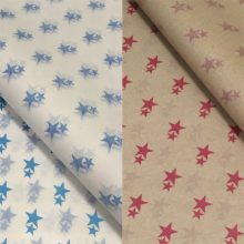 Printed Group Star Tissue Paper